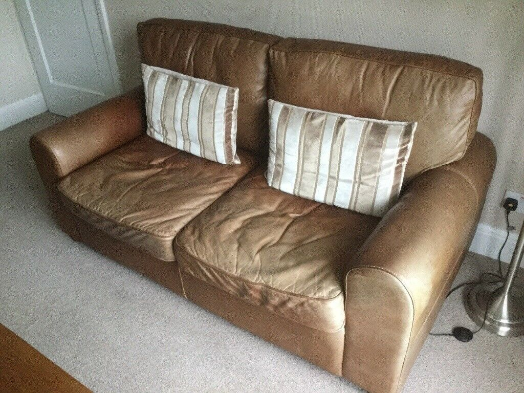 Brown Leather Sofa In Stockport Manchester Gumtree Leather Sofa Sofa