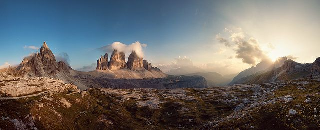 Tramonto alle Tre Cime by Khuzul (Alessandro Petri)