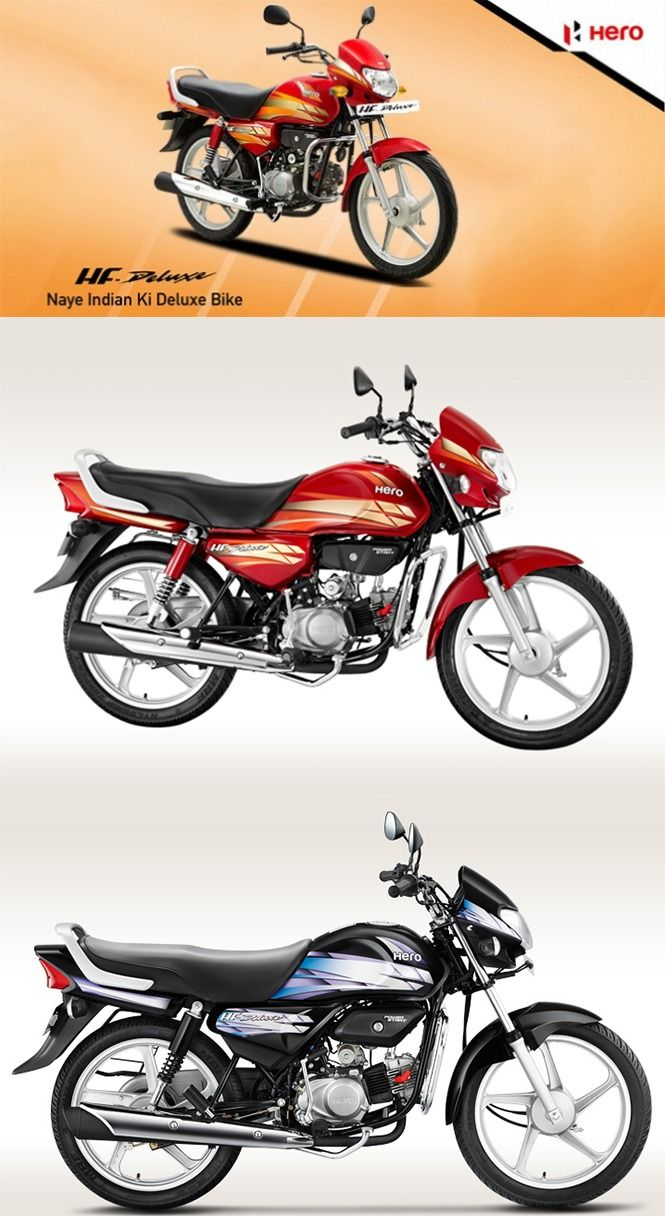 Hero Hf Deluxe Touched 1 Million Milestone For Fy2015 Sales Hero