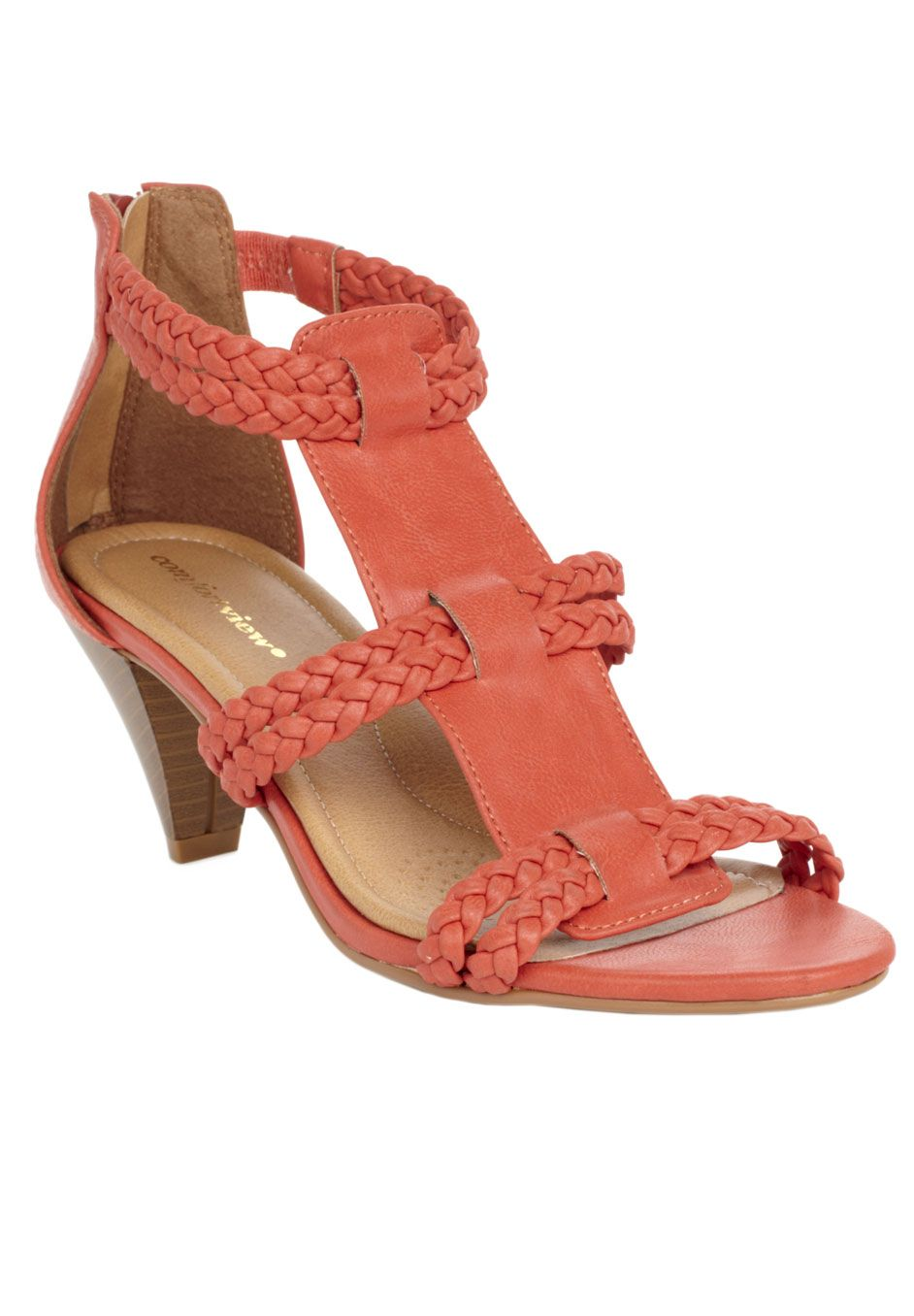 97ed03f7816 Wide Width Pam braided sandal by Comfortview®