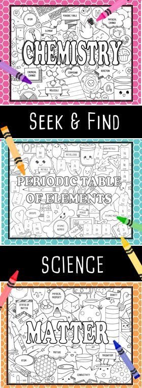 Seek \ Find Science is perfect for introducing or reinforcing unit - new periodic table another name for group