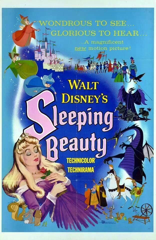 55th anniversary of Sleeping Beauty. 55 years ago today, one of the greatest Disney Villains was born, Maleficent.