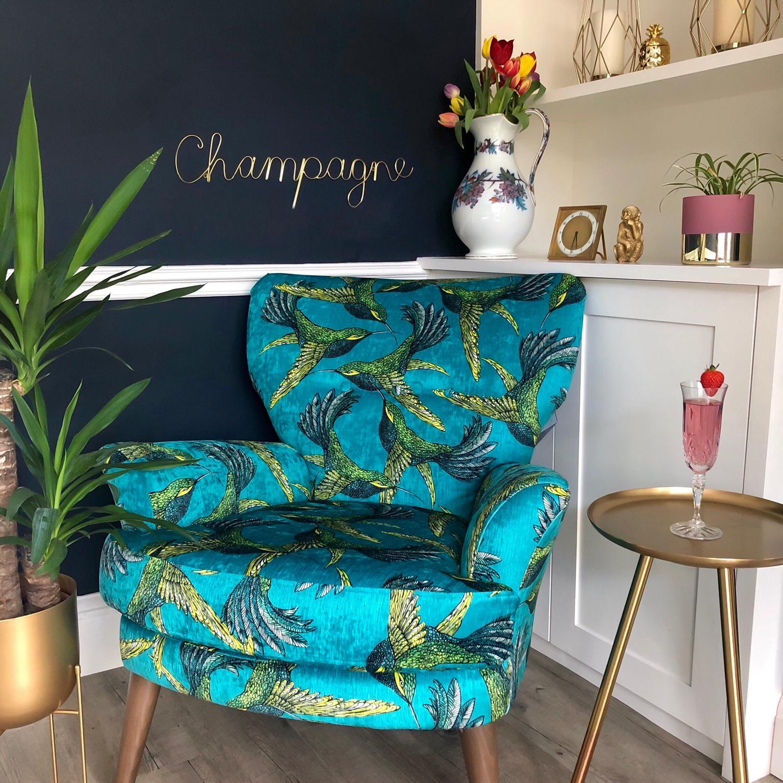 'Champagne ' Wire Word Gold | Home decor, Lounge decor ...
