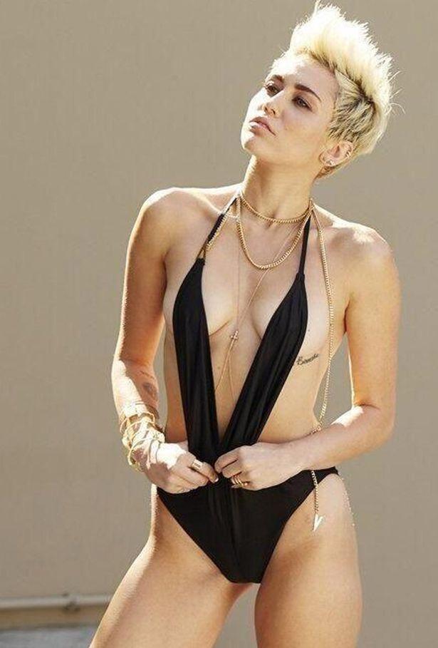 Sexy Miley Cyrus porno