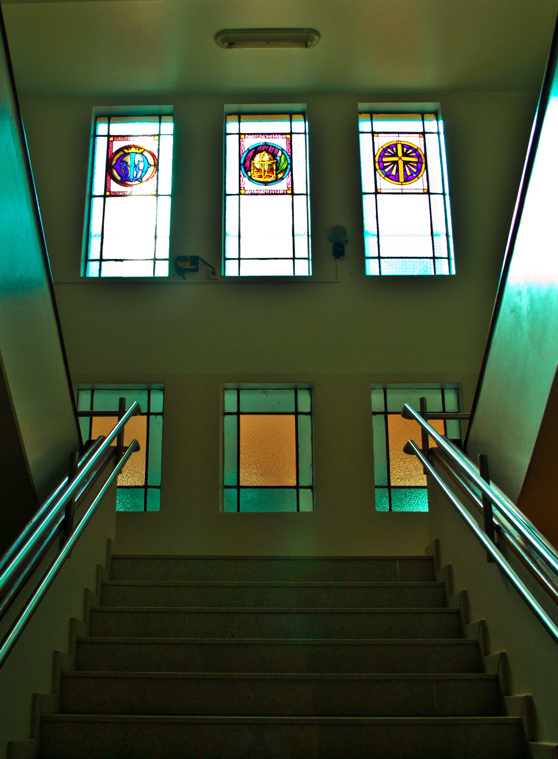 School Stairs