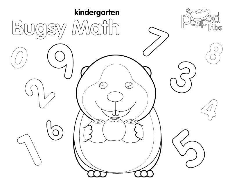 Bugsy Kindergarten Math coloring book.   Activities & More ...
