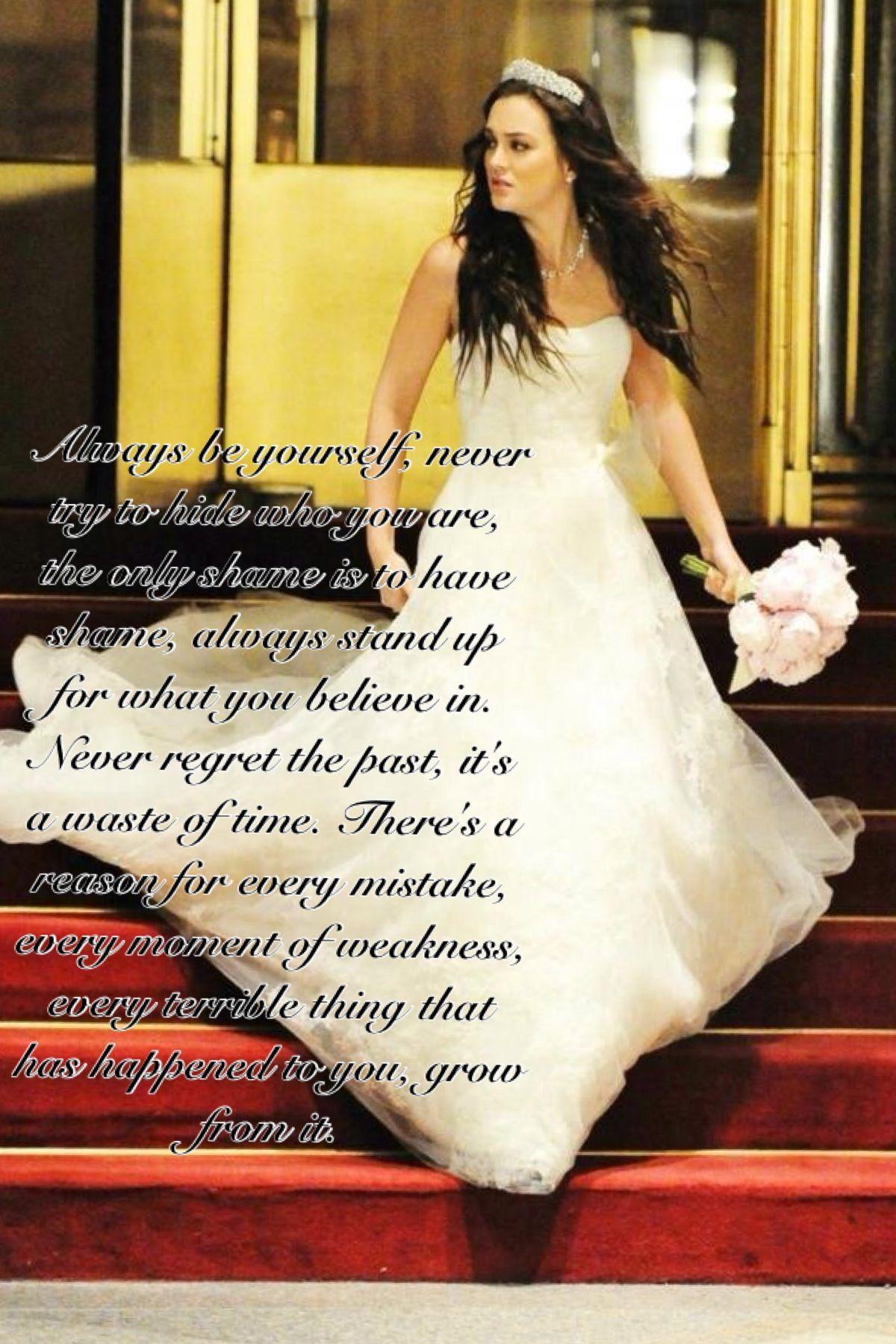 Gg quote gossip girl wedding dresses designer