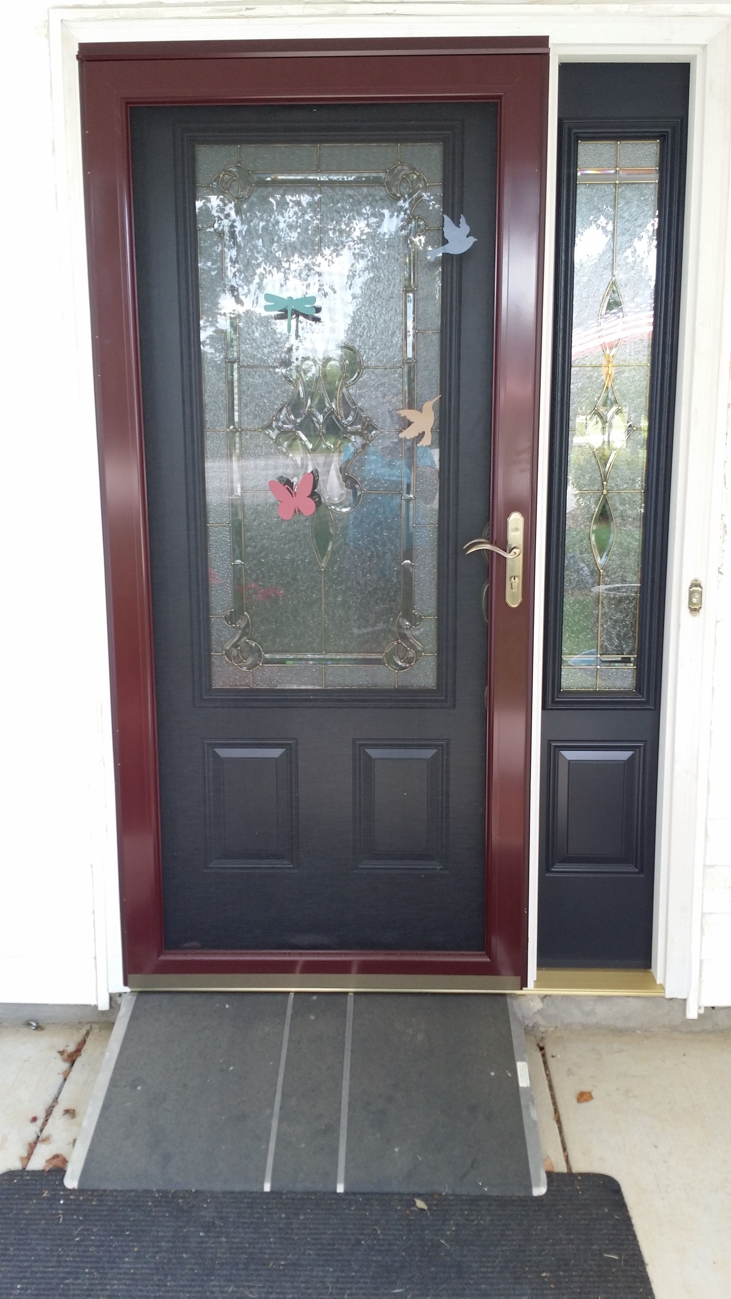Progress My New Reliabilt Stately Eclipse Color Entry Door And