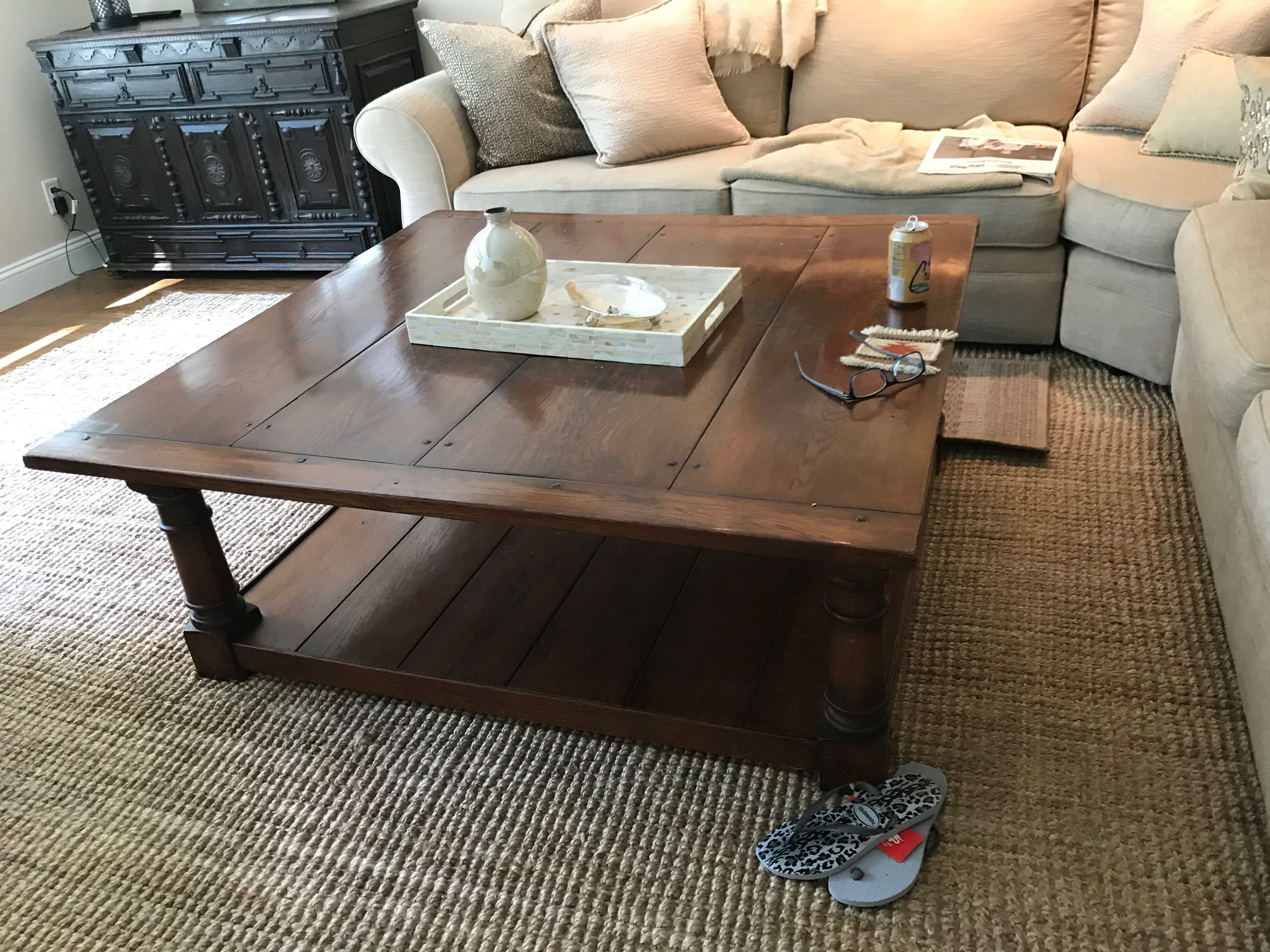 4 X4 Foot Coffee Table Coffee Table Furniture Home Decor