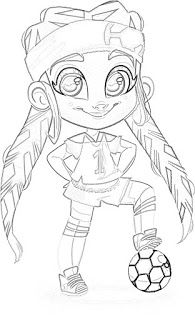 Hairdorables Dolls Coloring Pages Coloring Filminspector Com
