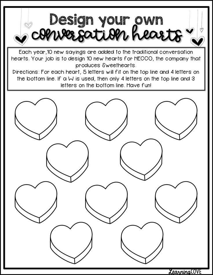 Conversation Hearts Valentine 39 s