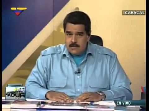 (Vídeo) Presidente Maduro a Obama Todos los mensajes de ustedes son apoyando a los golpistas http://youtu.be/4ZTa0hbJF_E vía @YouTube