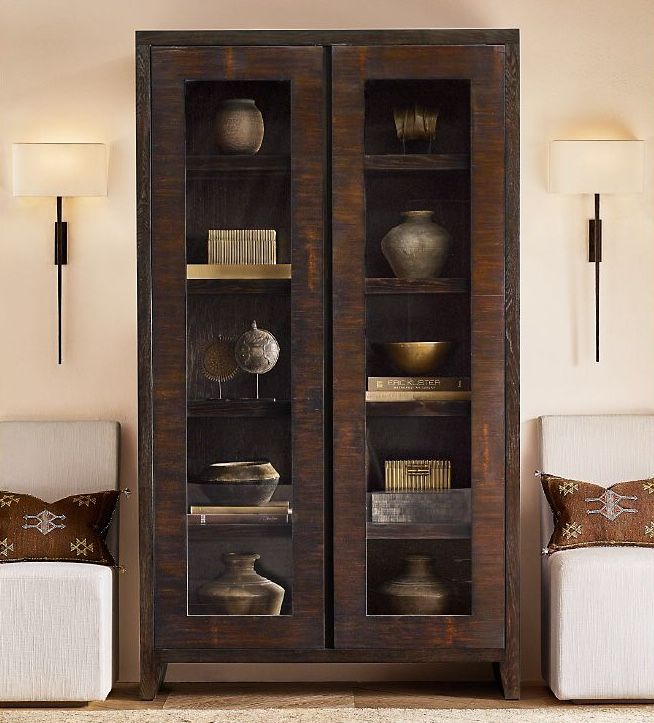 Pin by This Happy Corner on Living room decor | Sconces ... on Corner Sconce Shelf Cabinet id=45105