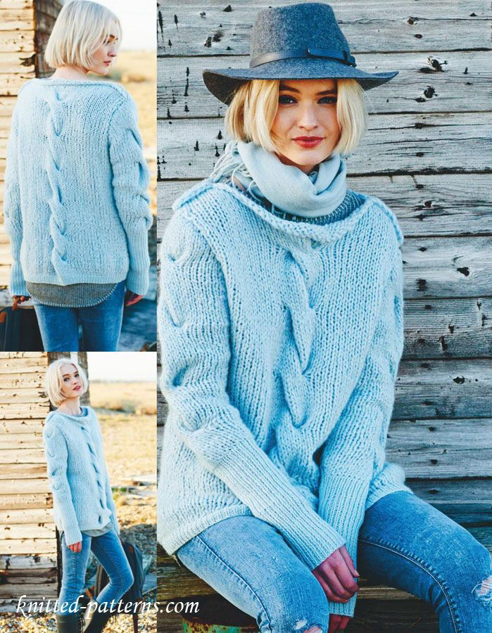 Sweater Knitting Pattern Free Les Pulls Manches Longues 2