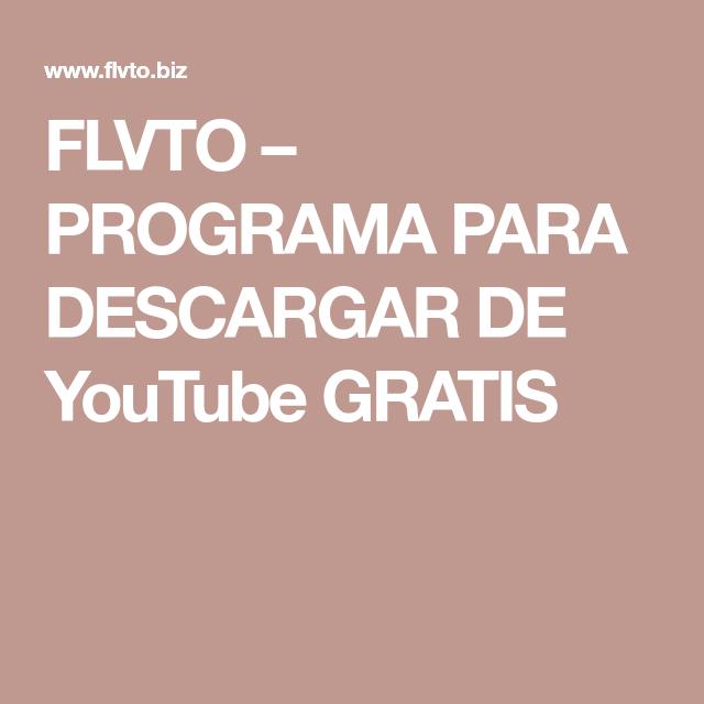 Flvto Programa Para Descargar De Youtube Gratis Spanish Christian Music Christian Music Christian