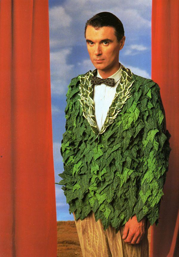 45a3cf72b IVY JACKET WITH WOOD SLACKS (worn by David Byrne) costume design by ...