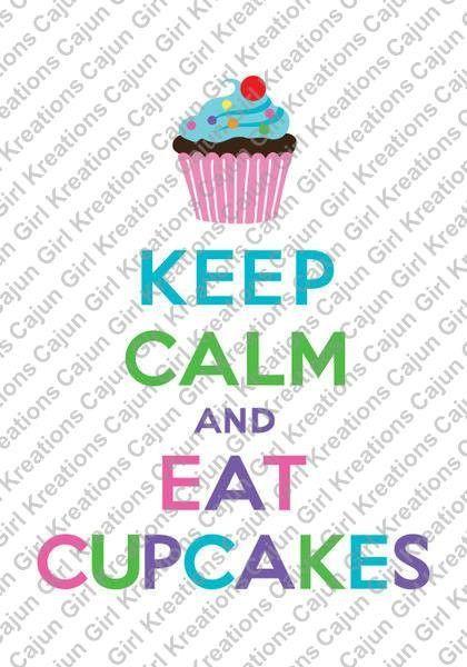 gir eating cupcake
