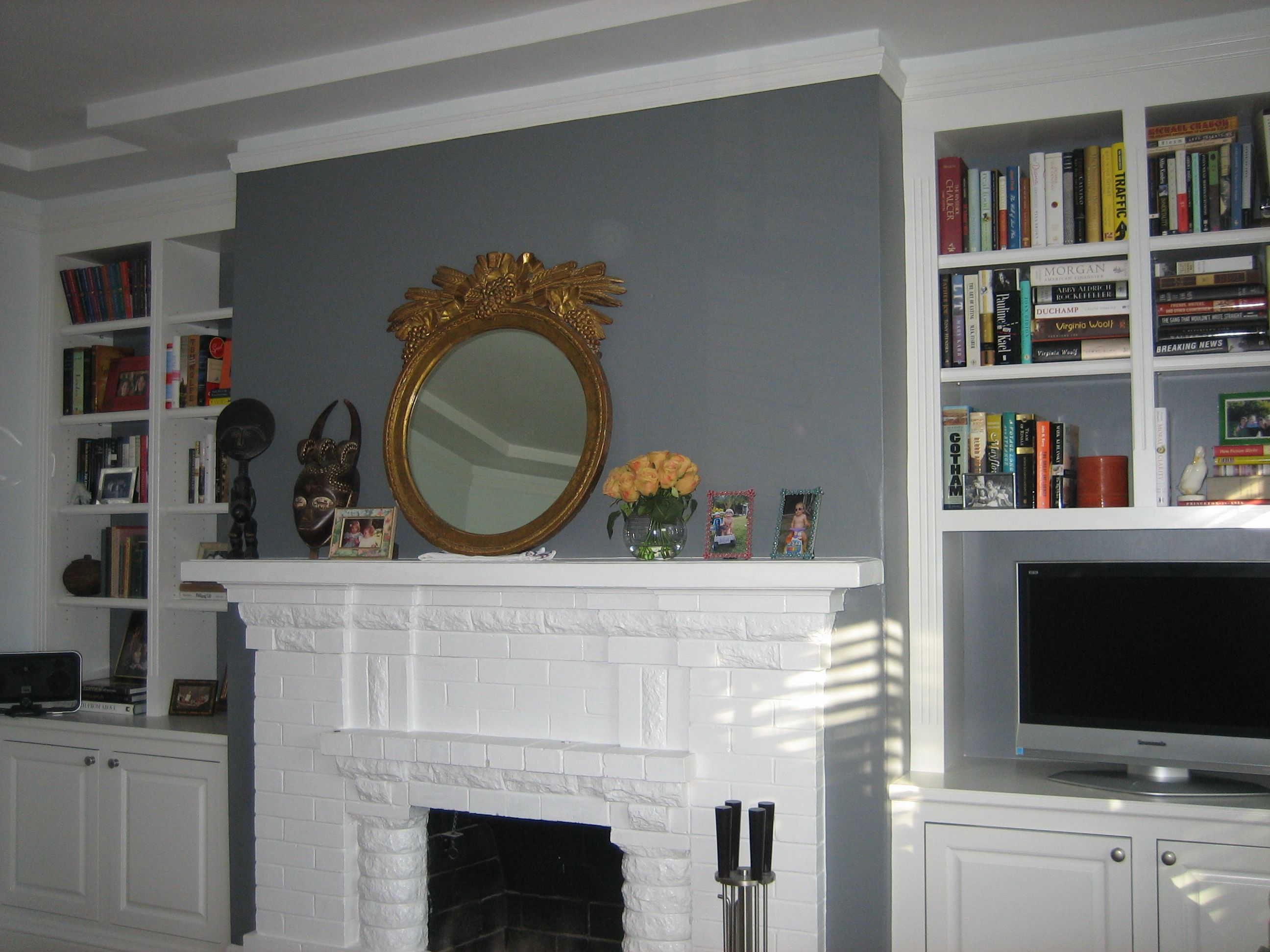 accent walls a cheap and easy home makeover family room