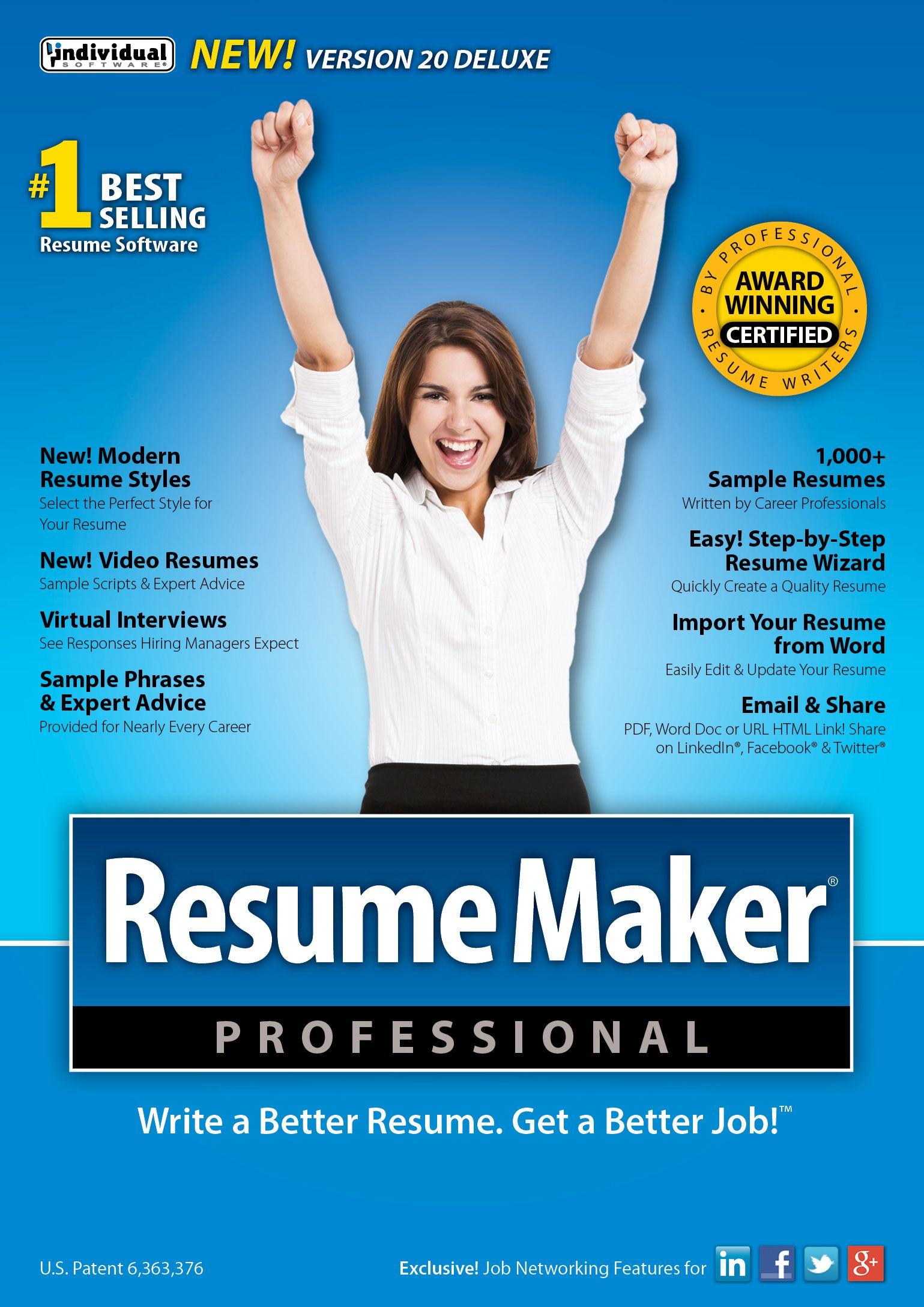 ResumeMaker Professional Deluxe 20 Free 3Day Trial Ind