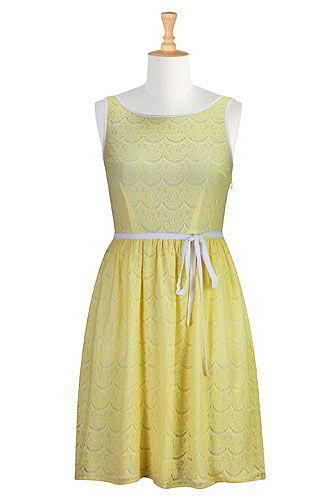 67f6767e2a I  3 this Lace overlay sash tie dress from eShakti