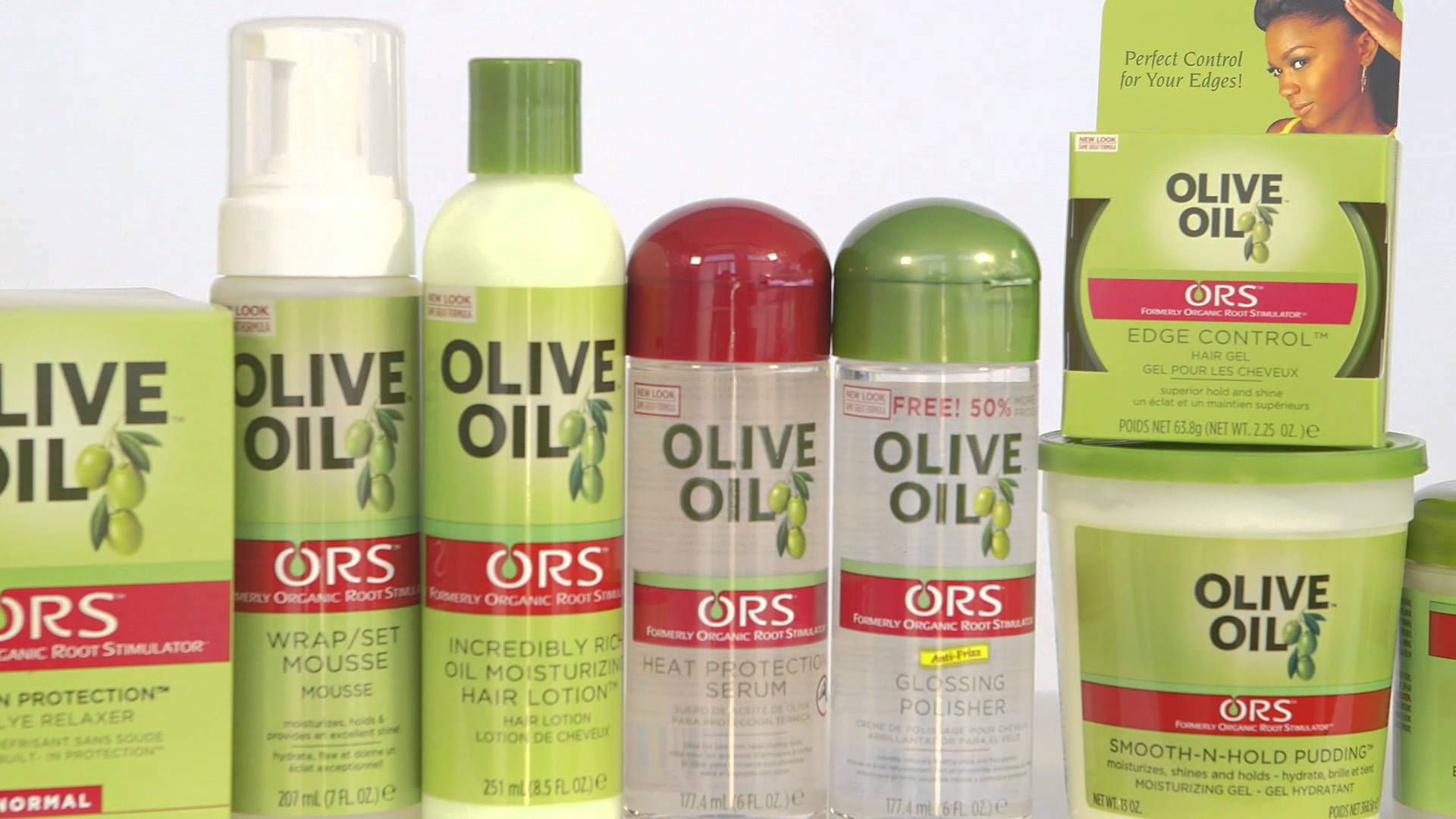 ORS Trend Alert Healthy is the New Look! Natural hair