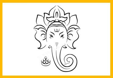 Free Lord Ganesha Drawing for Kids. Download Lord Ganesha Drawings for Kids. Ganesh Chaturthi is Hindu Festival and is celebrated on the birthday of Lord Ganesha.