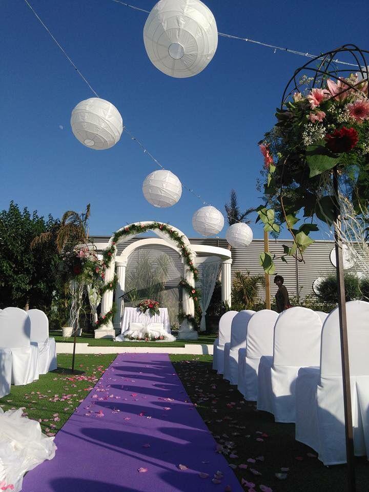 decoracion boda vintage, romantica. faroles de papel | fiestas