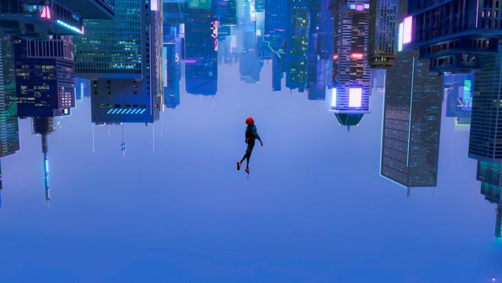 Spider-Verse Background