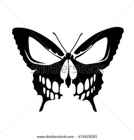 Butterfly Skull Tattoo,  #butterfly #butterflyskulltattoo #skull #Tattoo