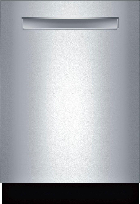 Bosch 24 Benchmark Series Stainless Steel Pocket Handle Dishwasher Shp88pz55n Bosch Dishwashers Built In Dishwasher Steel Tub