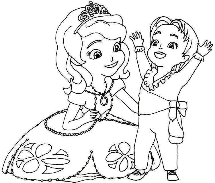 Sofia Coloring Pages In 2020 Mermaid Coloring Pages Disney Coloring Pages Disney Coloring Pages Printables