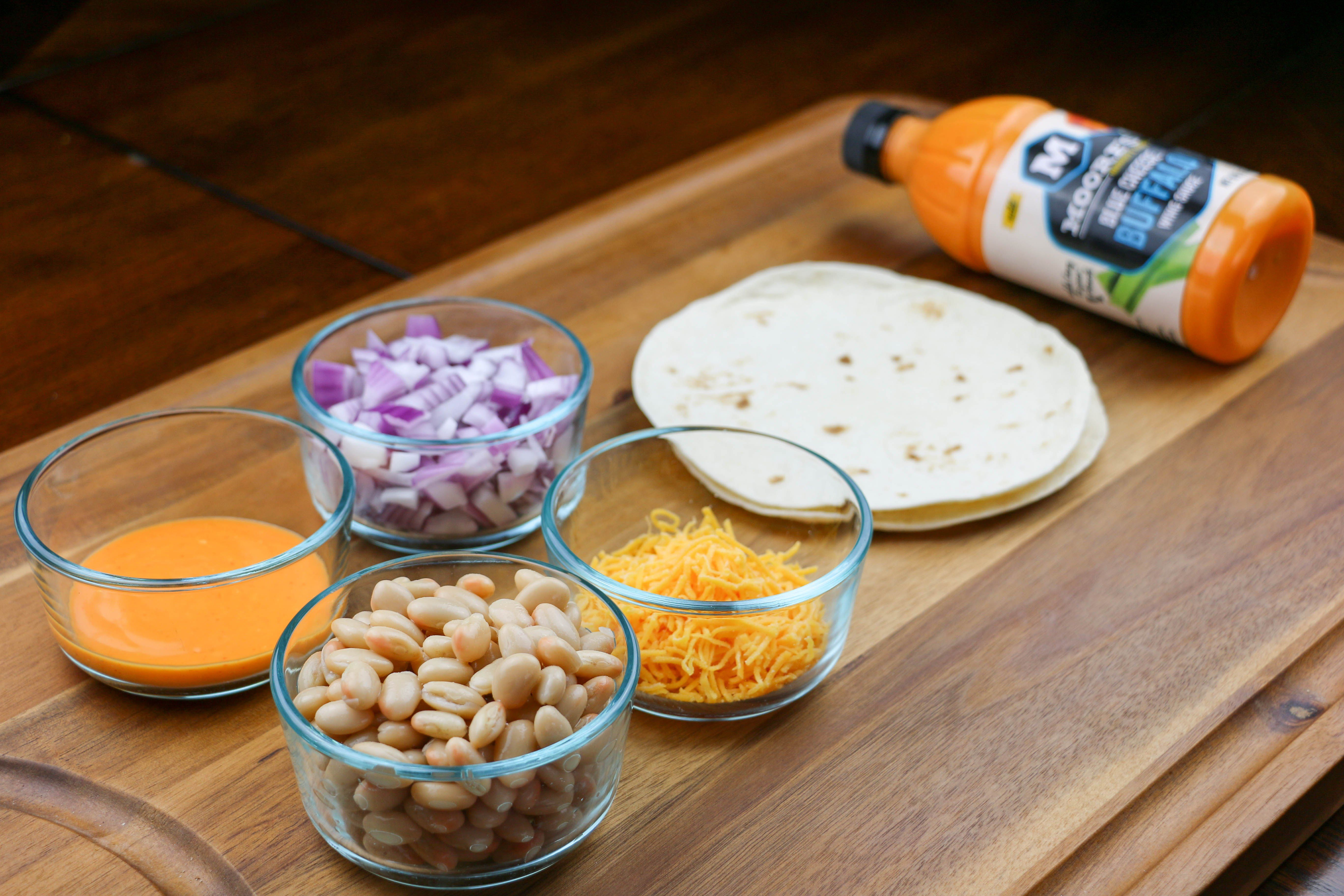 If you're like me and are always rushing to cook, then you're going to love these Buffalo White Bean Quesadillas. They're super easy to make and done in minutes giving you more time to spend with friends and family.