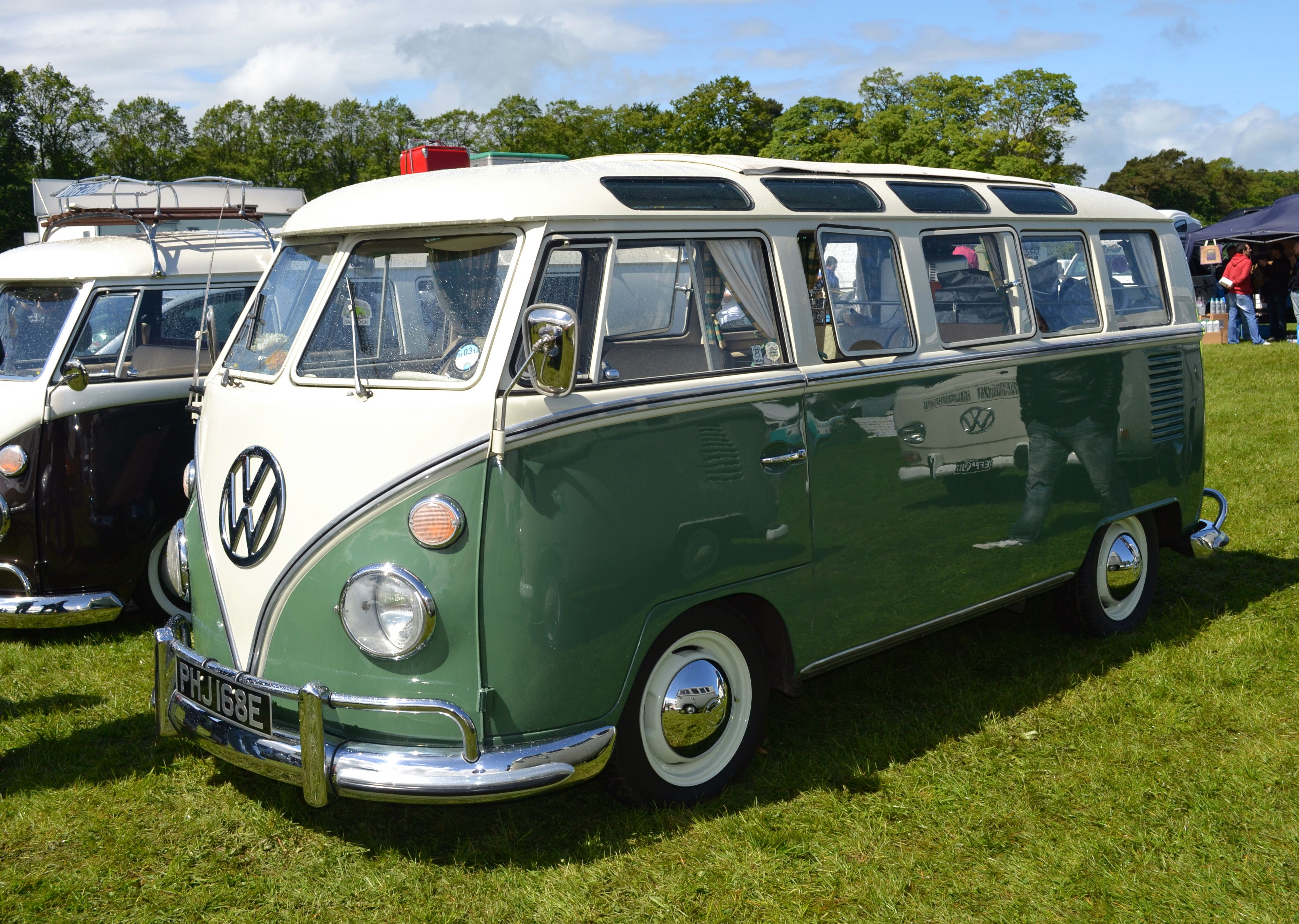 Pictures of 60 vw vans 60 years of the vw camper van part 1