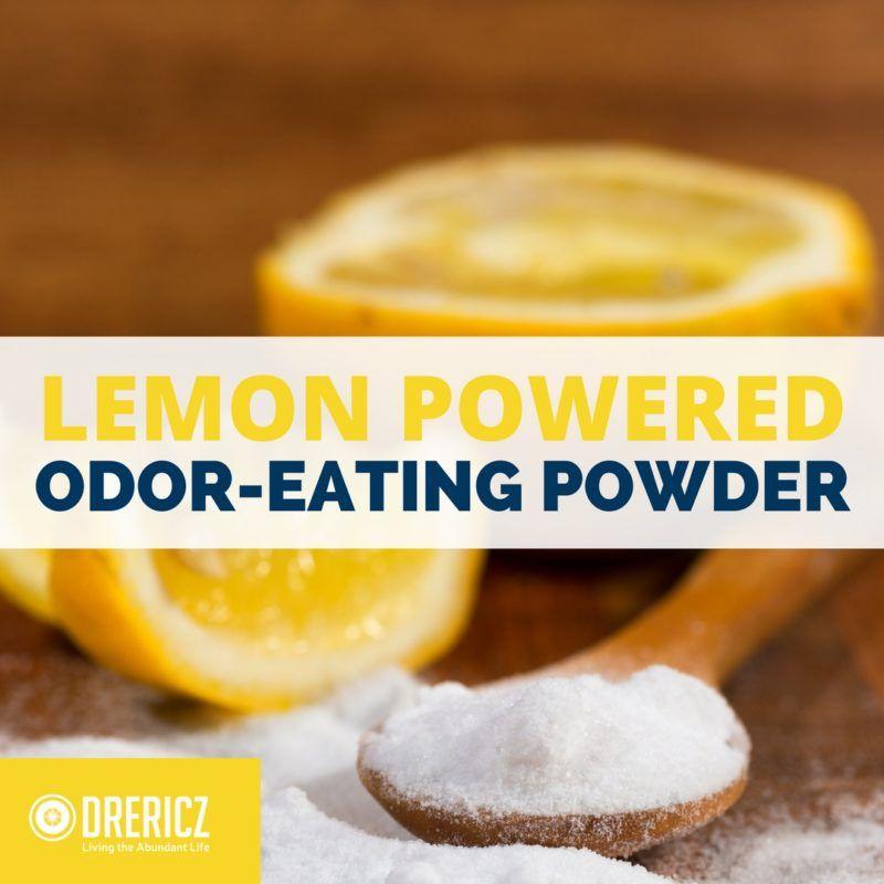 Lemon Powered Odor-Eating Powder | Recipe | Baking soda ...