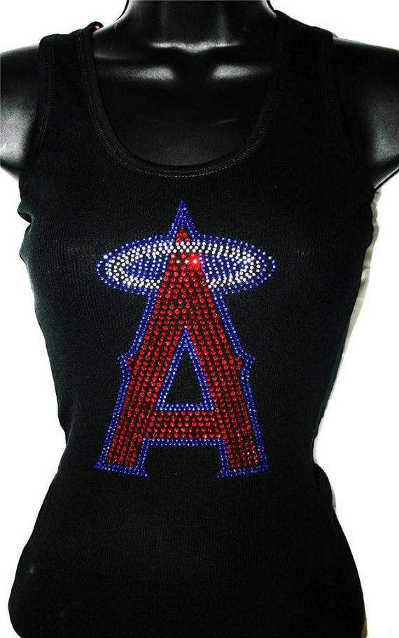 291cdf6d257 Los Angels Angels of Anaheim Bling Sparkle Jersey on Etsy