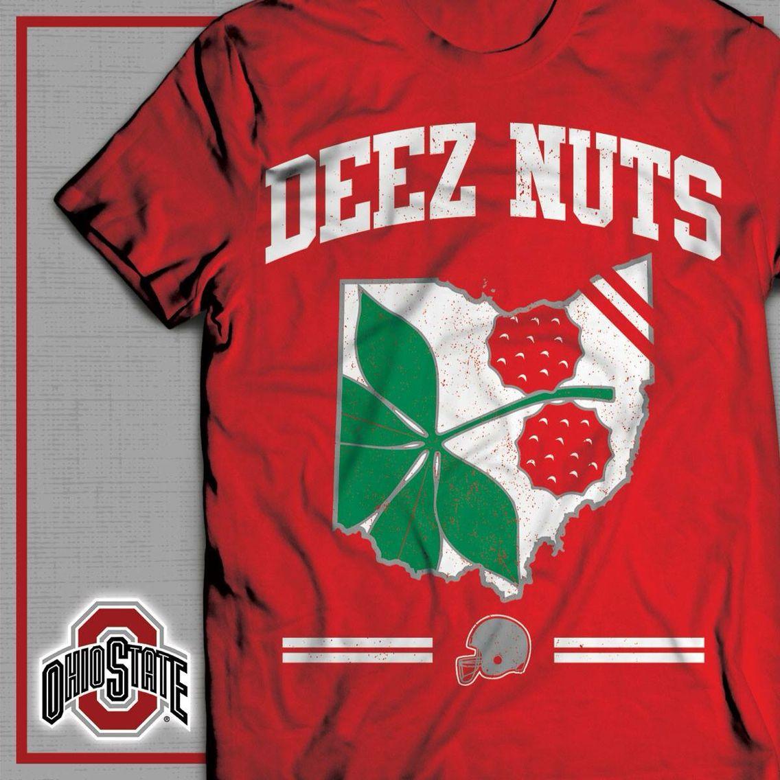 DEEZ NUTS!! Buckeye nation, Ohio state buckeyes, Ohio state