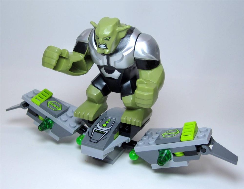 Custom LEGO Hobgoblin glider figure MOC