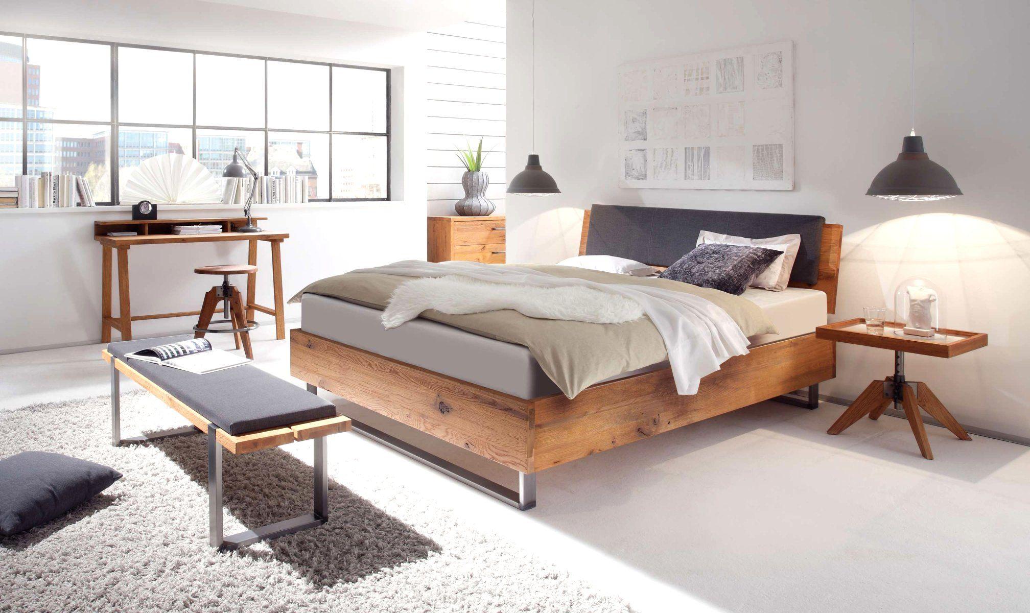 Bett Hasena Wild Oak Bett Modern Designer Bett Schlafzimmermöbel