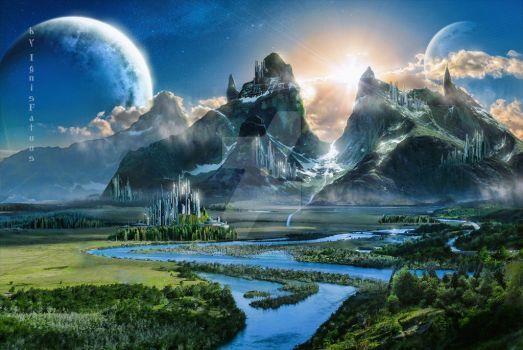 Fantasy world by IgnisFatuusII