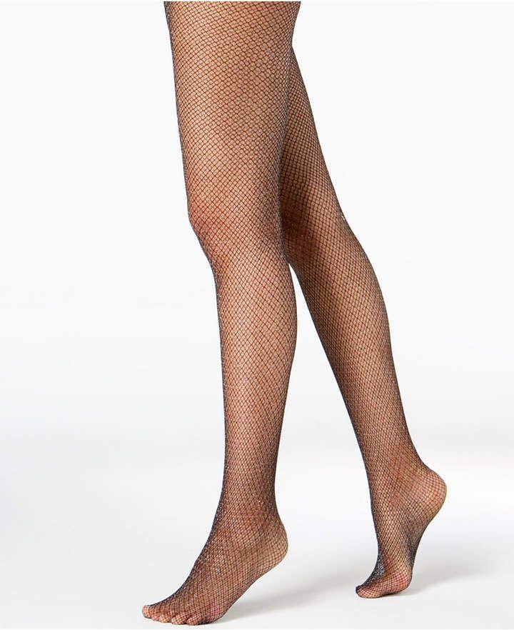 b11f4a66be724 I.n.c. Glitter Fishnet Tights, Created for Macy's  #statement#metallic#fashion