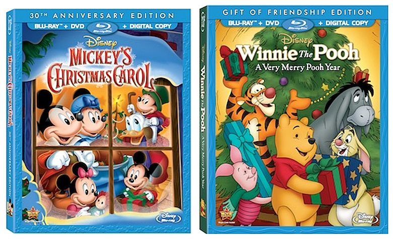 in honor of the 30th anniversary special edition of mickeys christmas carol and winnie the pooh a very merry pooh year releasing yesterday nov 5th for - Mickeys Christmas Carol Blu Ray