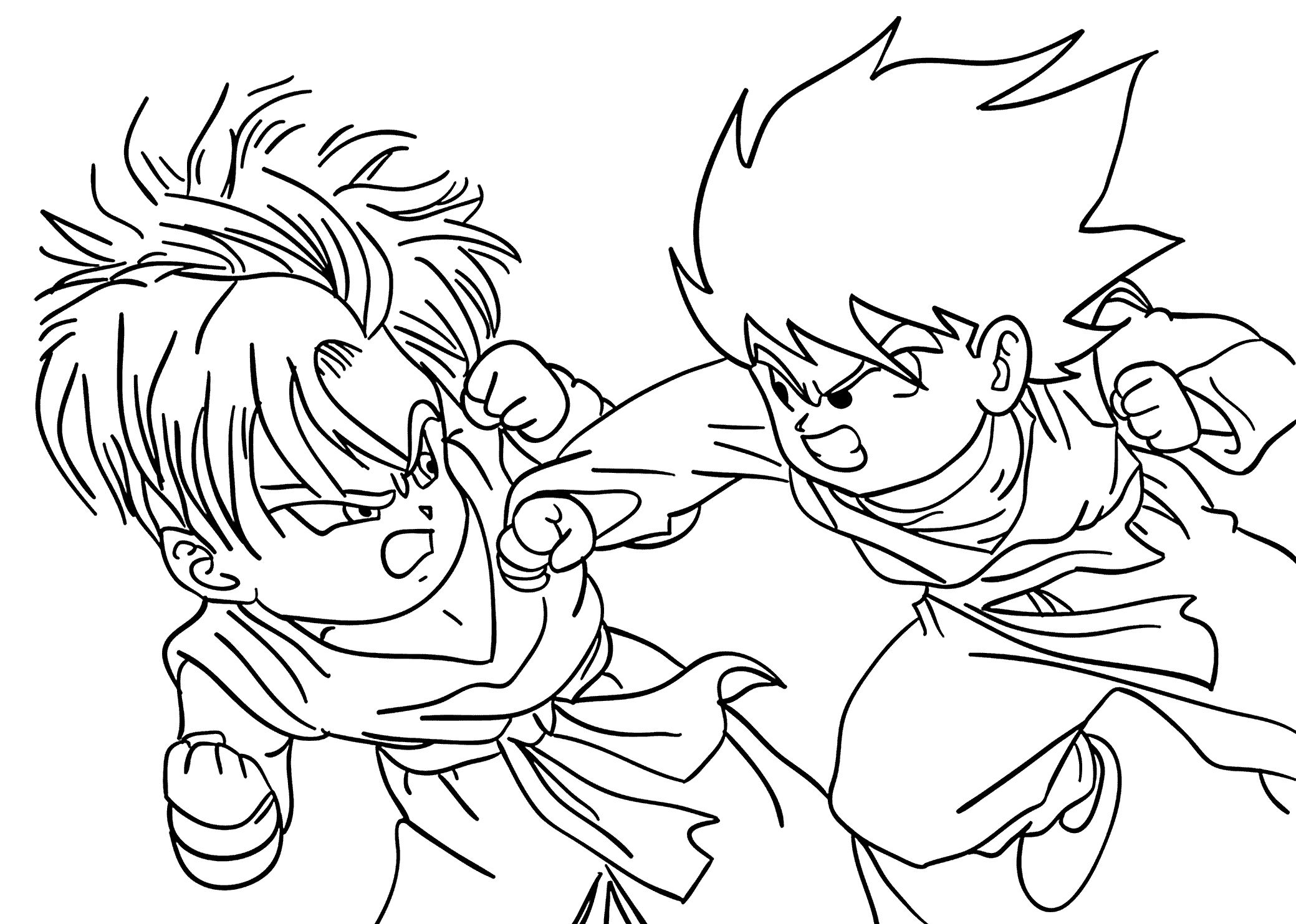 Dragon Ball Z Coloring Games (With images) Super