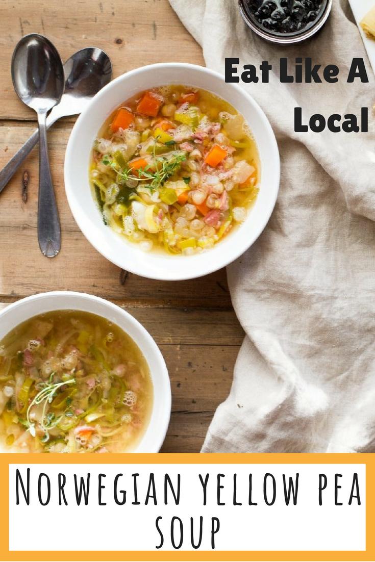 Yellow Split Pea Soup Recipe Eat Like A Local Norway Recipe Split Pea Soup Recipe Yellow Split Pea Soup Recipes
