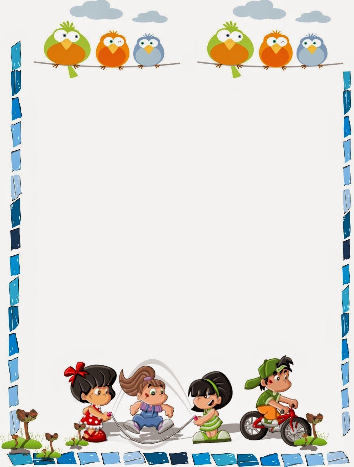 caratula para niños de kinder | MARCOS | Pinterest