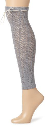 Betsey Johnson Women's Cashmere Blend Cozy Pointelle Leg Warmers - List price: $40.00 Price: $24.00 + Free Shipping