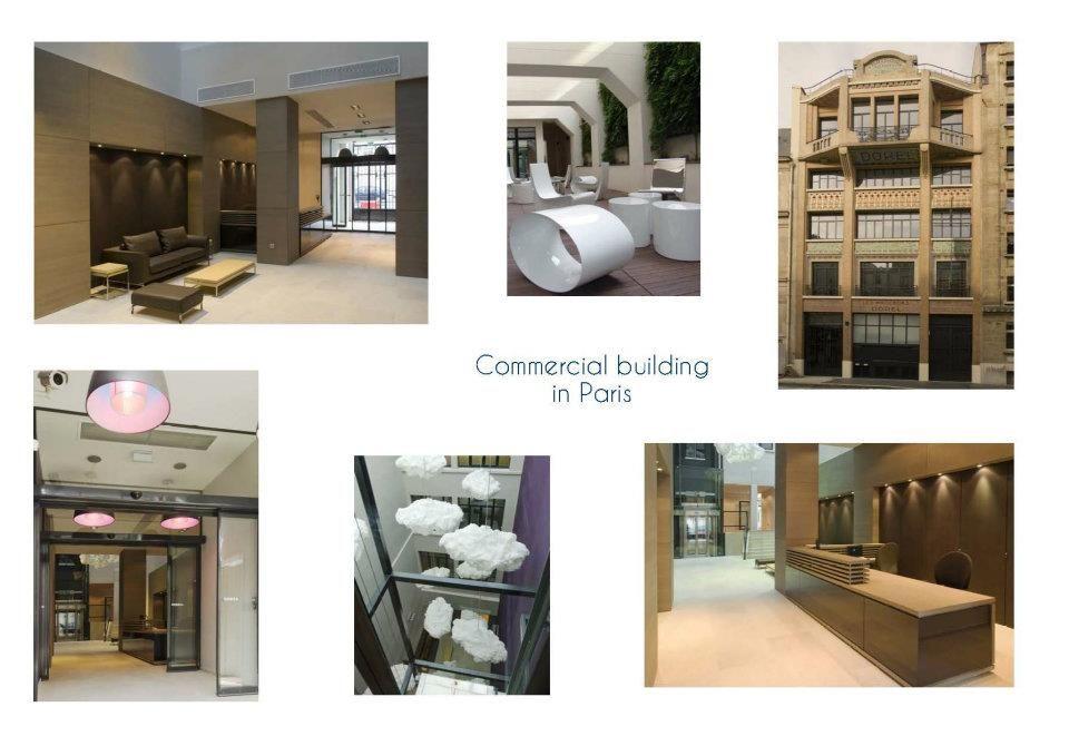 Immeuble Commerical - Agence schmidt et mamann design Projets