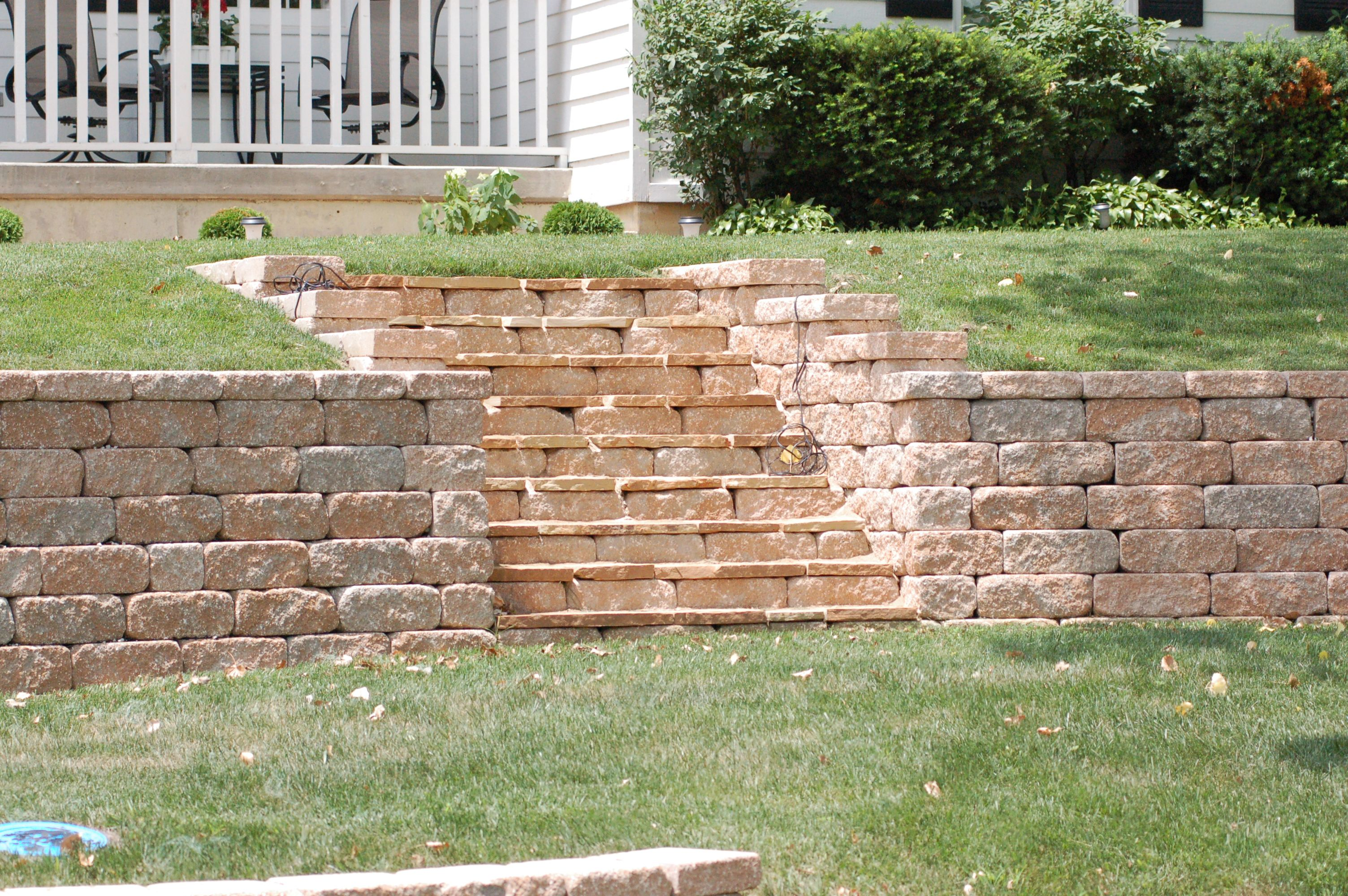 Homepage Retaining Wall Steps Retaining Wall Lawn Maintenance