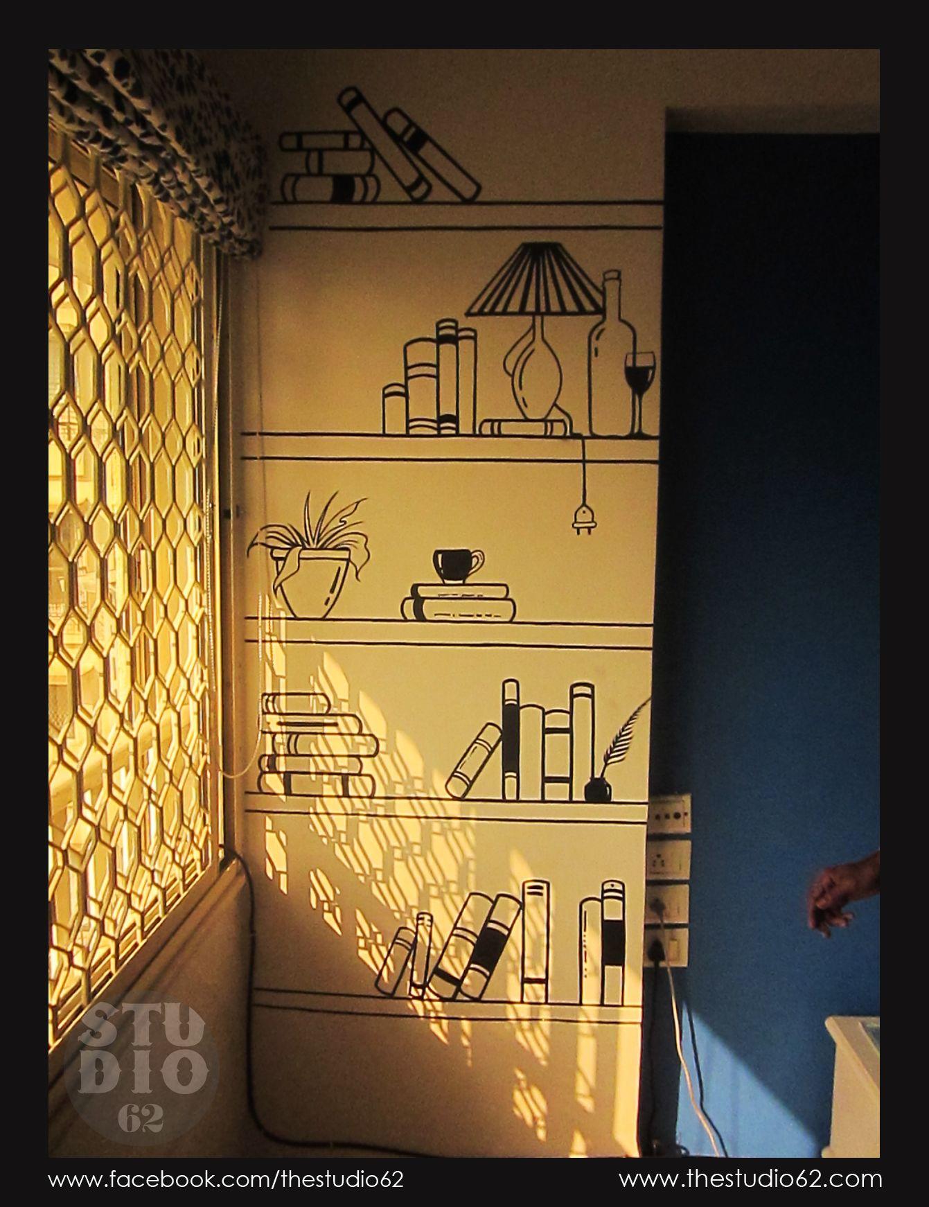 Shelf#Vector#WallArt#Studio62   Kalasutra   Pinterest