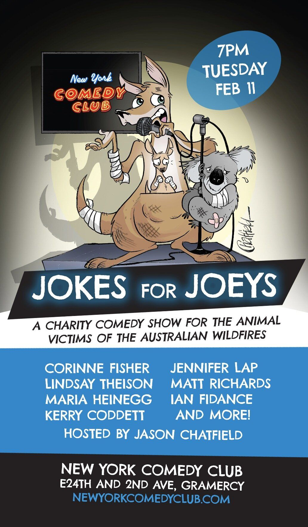 Jokes For Joeys Come Help Raise Money For The Animals Injured And Displaced By The Australian Bushfires How To Raise Money Jokes Comedy Club