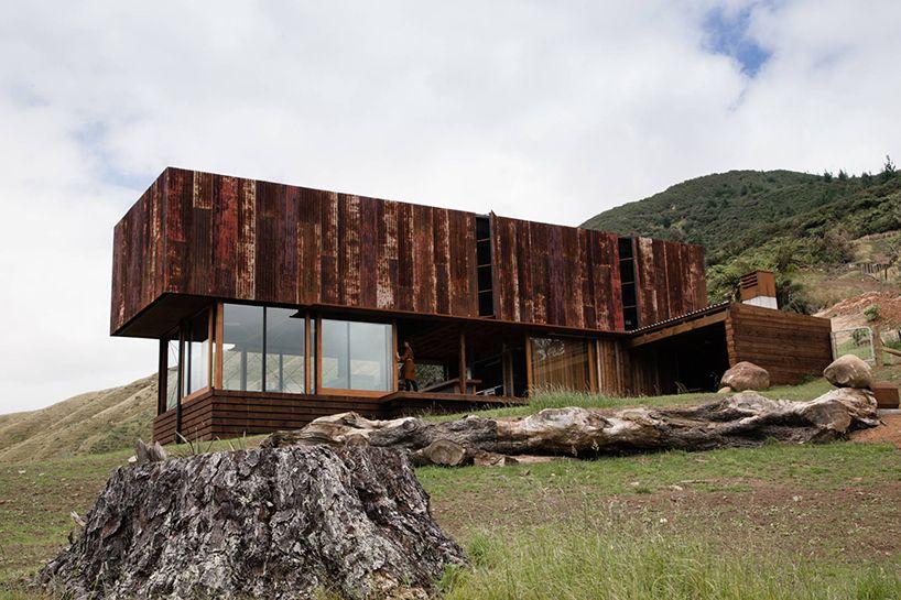 Modern Architecture New Zealand herbst-architects-k-valley-house-new-zealand-designboom-02